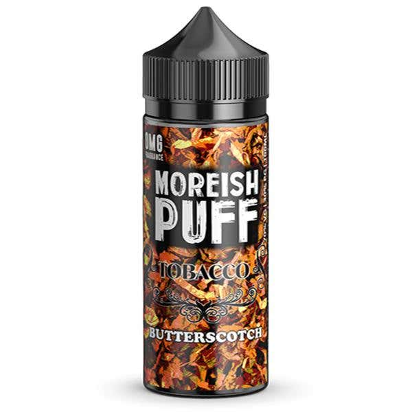 Butterscotch Tobacco Shortfill by Moreish Puff