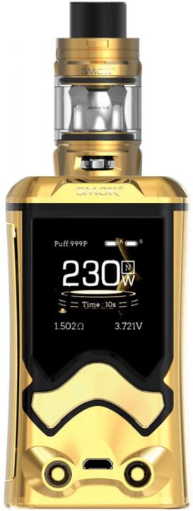 Gold & BlackZinc Alloy T Storm Vape Device by SMOK