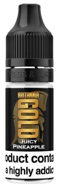 Juicy Pineapple Regular 10ml by Britannia Gold