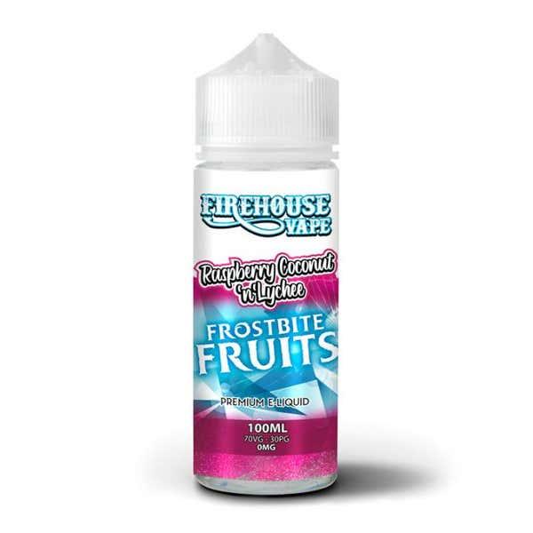 Raspberry, Coconut & Lychee Ice Shortfill by Firehouse Vape