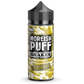 Moreish Puff Banana Shakes Shortfill