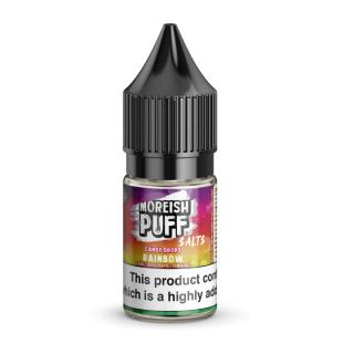 Moreish Puff Rainbow Candy Drops Nicotine Salt