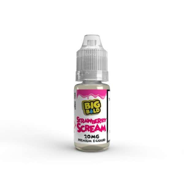 Strawberry Scream Nicotine Salt by Big Bold