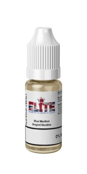 Blue Menthol Regular 10ml by Elite Liquid
