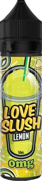 Lemon Slush Shortfill by Love Slush