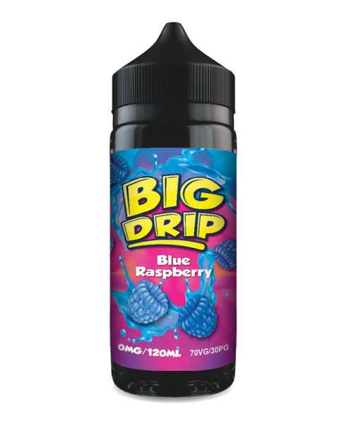 Blue Raspberry Shortfill by Big Drip