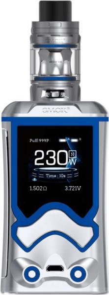 Prism ChromeZinc Alloy T Storm Vape Device by SMOK