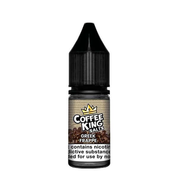 Greek Frappe Nicotine Salt by Coffee King