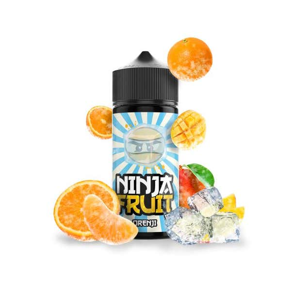 Orenji Ice Shortfill by Ninja Fruit