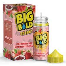Strawberry Jam & Clotted Cream Shortfill by Big Bold