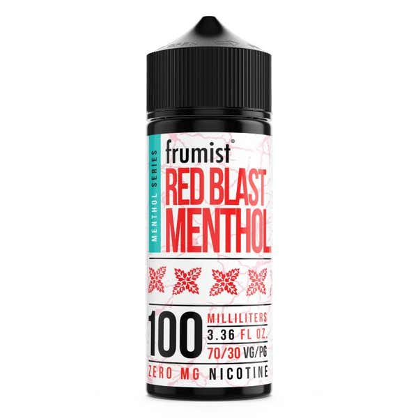 Red Blast Menthol Shortfill by Frumist