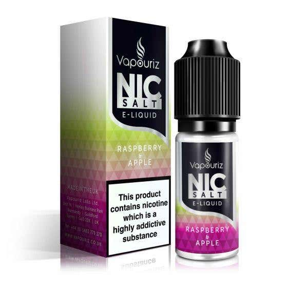 Raspberry & Apple Nicotine Salt by Vapouriz