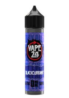 Vape 24 Blackcurrant Shortfill