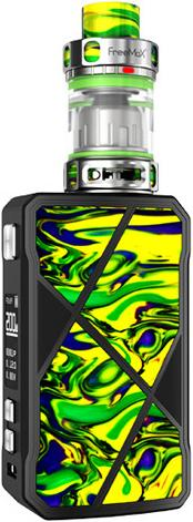 GreenZinc Alloy & Stainless Steel Maxus Vape Device by FreeMax