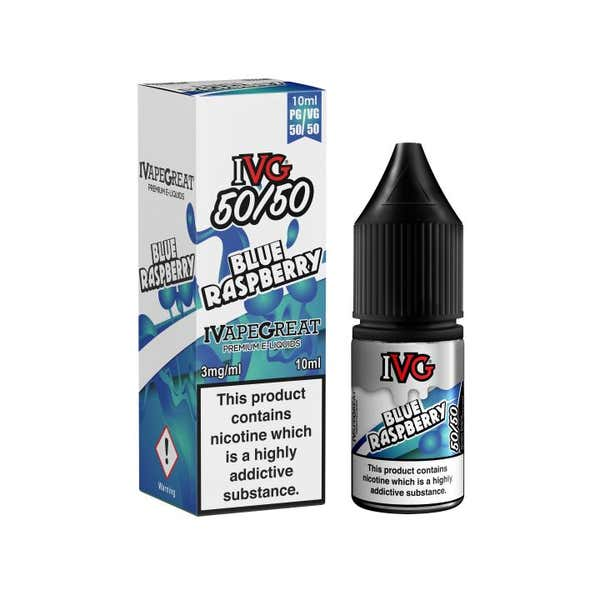Blue Raspberry Regular 10ml by IVG
