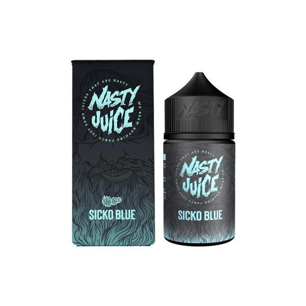 Sicko Blue Shortfill by Nasty Juice