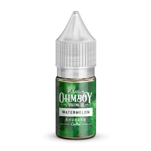 Watermelon & Rhubarb Chilled Nicotine Salt by Ohm Boy