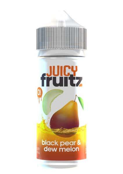 Black Pear & Dew Melon Shortfill by Juicy Fruitz
