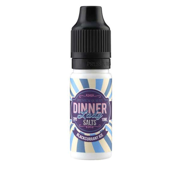 Blackcurrant Ice Nicotine Salt by Dinner Lady