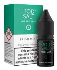 Fresh Mint Nicotine Salt by Pod Salt