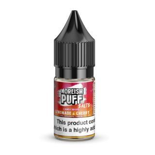 Moreish Puff Lemonade & Cherry Candy Drops Nicotine Salt