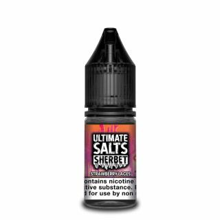 Ultimate Puff Sherbet Strawberry Laces Nicotine Salt
