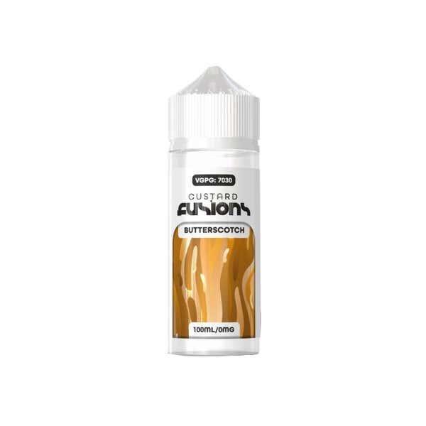 Butterscotch Custard Shortfill by Custard Fusion