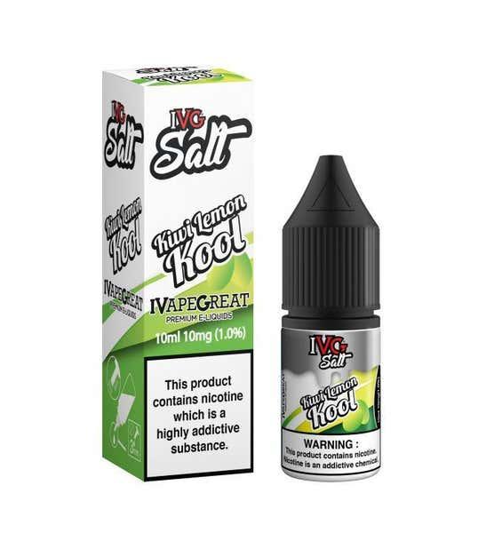 Kiwi Lemon Kool Nicotine Salt by IVG