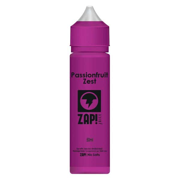 Passionfruit Zest Shortfill by Zap!