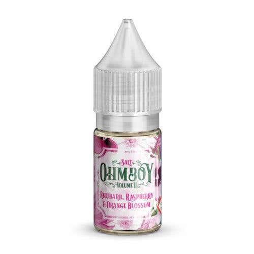 Rhubarb, Raspberry & Orange Blossom Nicotine Salt by Ohm Boy