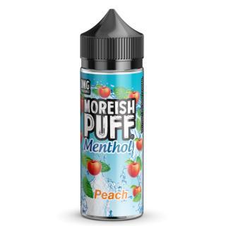 Moreish Puff Peach Menthol Shortfill