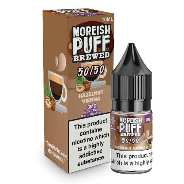 Hazelnut Vienna Regular 10ml by Moreish Puff