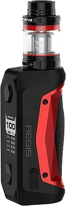 RedAlloy, Leather & Silicone Aegis Solo Vape Device by GeekVape