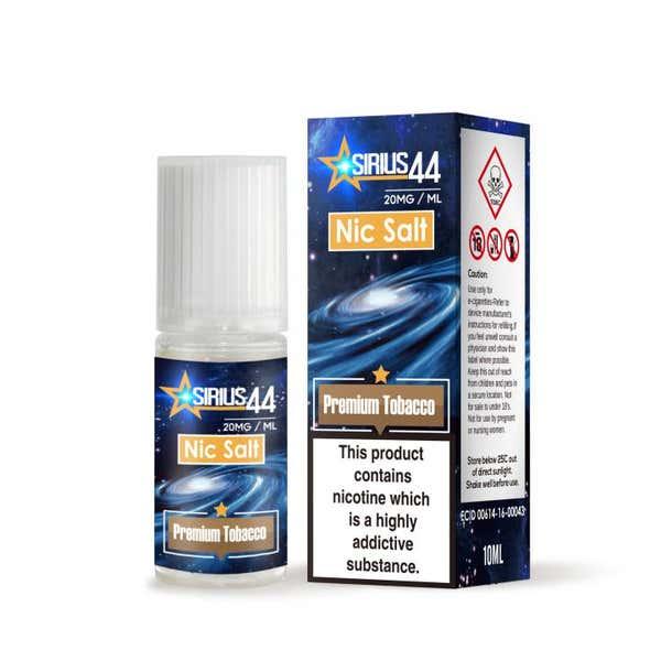 Premium Tobacco Nicotine Salt by Sirius 44