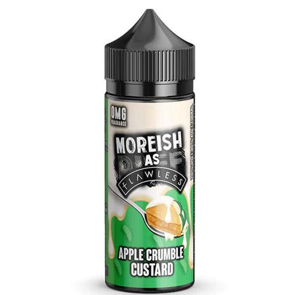 Apple Crumble Custard Shortfill by Moreish Puff