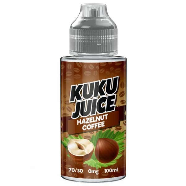 Hazelnut Coffee Shortfill by Kuku Juice