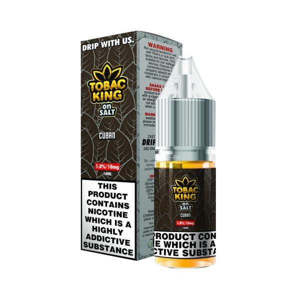 Cuban Nicotine Salt by Tobac King