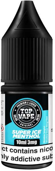 Super Ice Menthol Regular 10ml by Top Vape