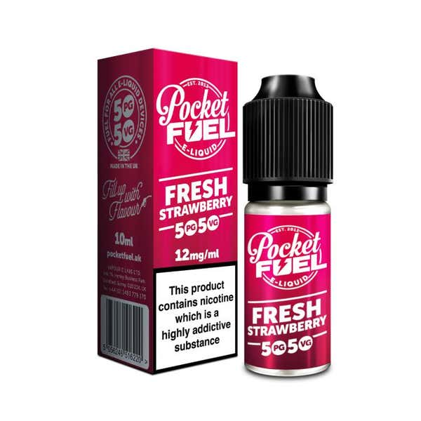 Fresh Strawberry Regular 10ml by Pocket Fuel