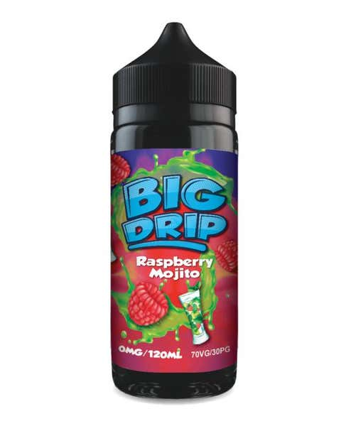 Raspberry Mojito Shortfill by Big Drip