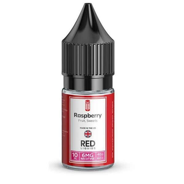 Raspberry Regular 10ml by RED Liquids