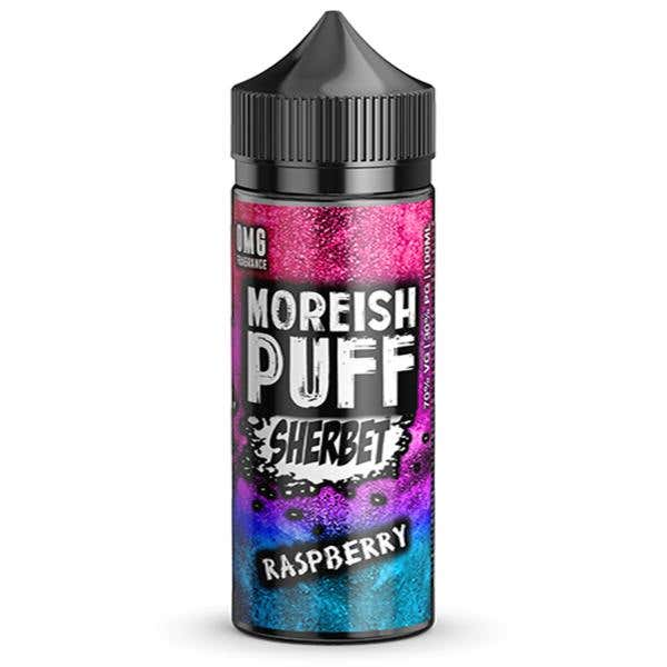 Raspberry Sherbet Shortfill by Moreish Puff