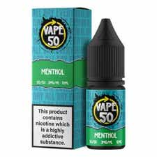 Menthol Regular 10ml by Vape 50