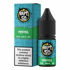 Menthol Regular 10ml by Vape 50