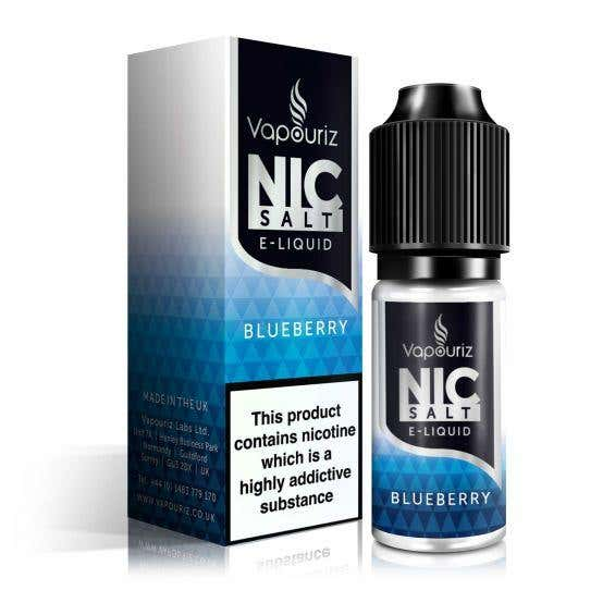 Blueberry Nicotine Salt by Vapouriz
