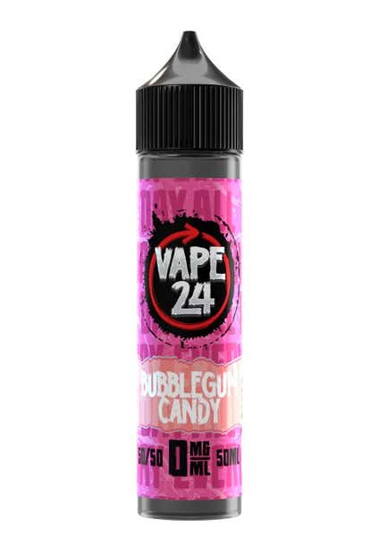 Bubblegum Candy Shortfill by Vape 24