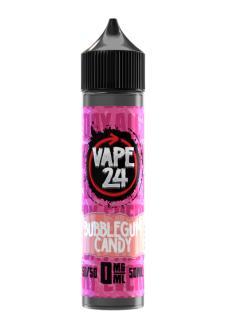 Vape 24 Bubblegum Candy Shortfill