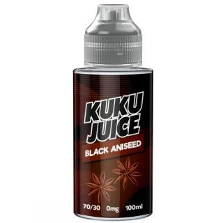 Kuku Black Aniseed Shortfill