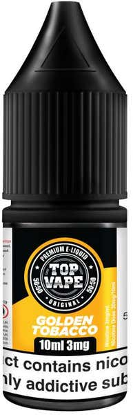 Golden Tobacco Regular 10ml by Top Vape