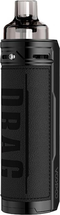 Dark KnightAlloy & Leather Drag X Vape Device by VooPoo